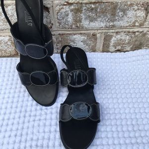 Munro Patent Leather Sandal